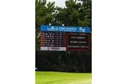 2011年 VanaH杯KBCオーガスタゴルフトーナメント 3日目 雷