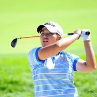 首位タイで最終日を迎え、ツアー初勝利に王手をかけた向山唯 2011年 ニトリレディスゴルフトーナメント 2日目 向山唯