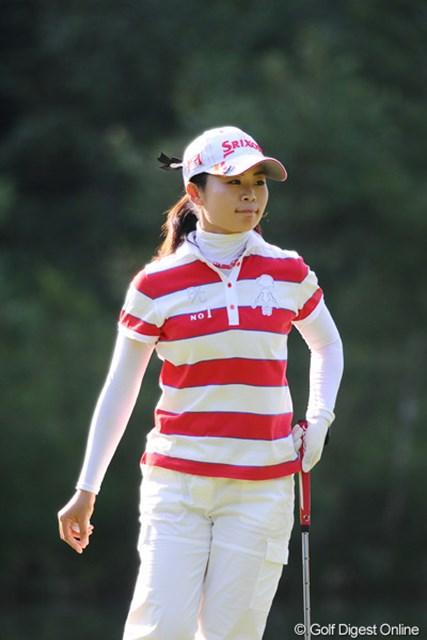 2011年 ニトリレディスゴルフトーナメント 2日目  永井奈都 ホンマに今年は長い夏や~!連日の堅実なプレーが光っております。11位T