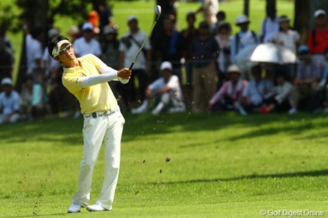 2011年 VanaH杯KBCオーガスタゴルフトーナメント 最終日 近藤共弘 試行錯誤を続けながら4日間を戦った近藤共弘だったが、今季2勝目には届かなかった