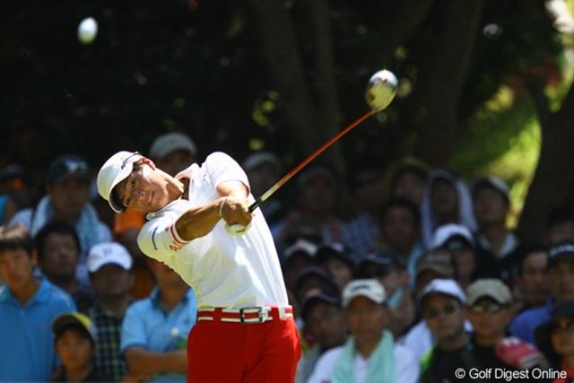 2011年 VanaH杯KBCオーガスタゴルフトーナメント 最終日 石川遼 石川遼は今季初勝利になかなか手が届かないが、賞金ランクは再びトップに浮上した