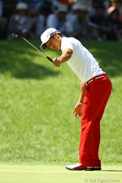 2011年 VanaH杯KBCオーガスタゴルフトーナメント 最終日 石川遼 諦める事なく、5番からバーディーを量産。「入れっ!!」