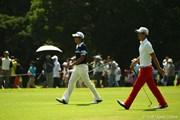 2011年 VanaH杯KBCオーガスタゴルフトーナメント 最終日 石川遼とキム・キョンテ
