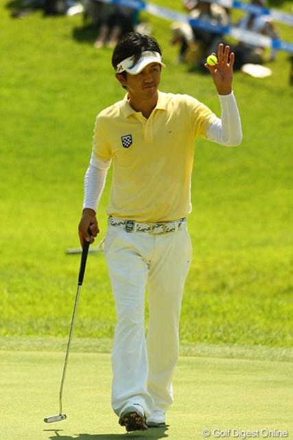 今日も淡々とゴルフを