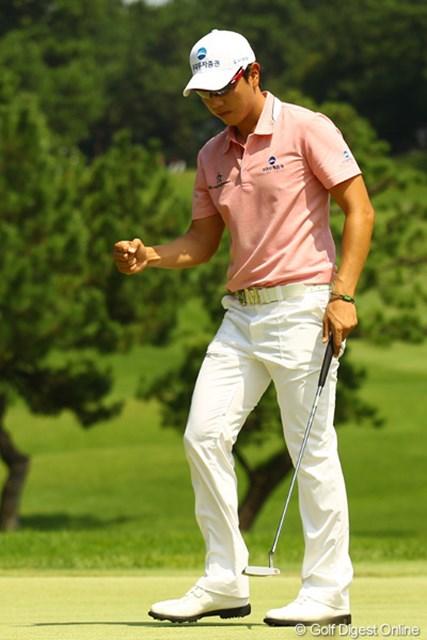 2011年 VanaH杯KBCオーガスタゴルフトーナメント 最終日 ベ・サンムン 大事なパットをことごとく入れまくった