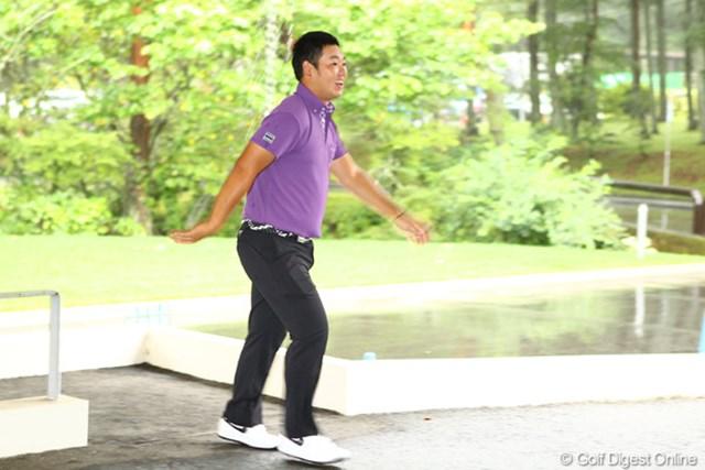 薗田峻輔は中止決定後にクラブハウスを訪れ、打撃練習場で打ち込んだ