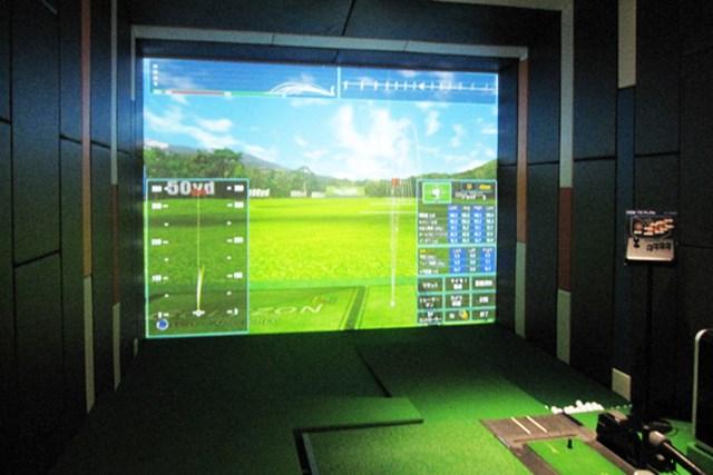 GOLFZONのシミュレーションゴルフは、世界中のコースが100以上も入っている