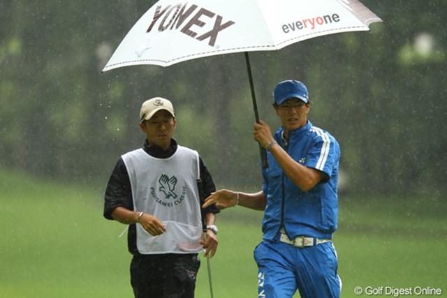 厳しいコンディションの中で、石川遼は出遅れることなくプレー