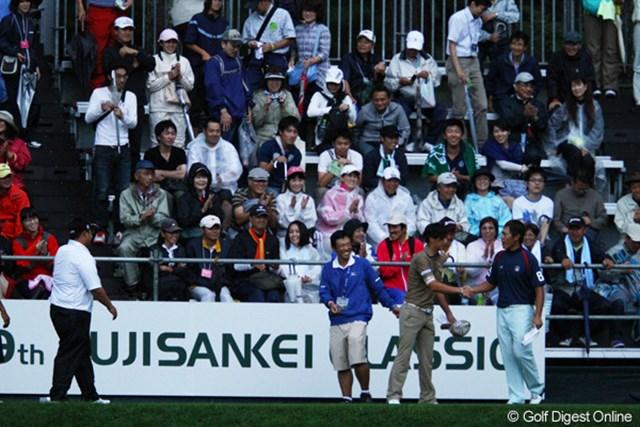 石川遼は夕方の第2ラウンドティオフ直前に日没サスペンデッドを余儀なくされた