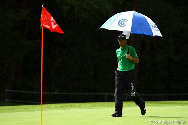 ボギーが少ない安定したゴルフで単独2位です。