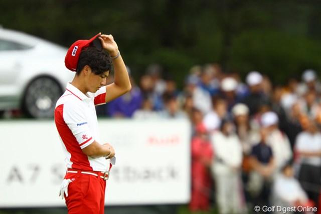 ツアー13年ぶりの同一大会3連覇達成はならず…石川遼は肩を落とした