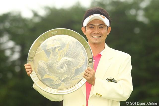 諸藤将次がツアー初勝利。36ホール競技で初優勝した選手は初めてとなった