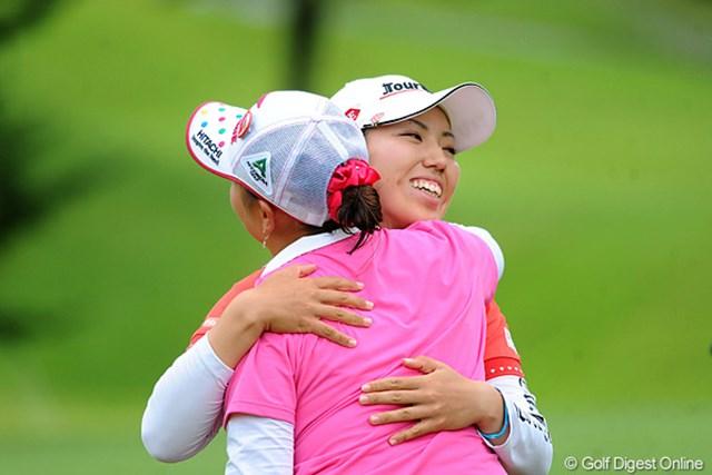 2011年 ゴルフ5レディス 最終日 笠りつ子 僅か1ストローク及ばず、2週連続優勝を逃した笠りつ子