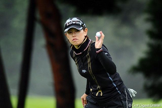 2011年 ゴルフ5レディス 最終日  竹末裕美 竹末裕美はラスト4ホールで3ボギーを叩き失速。4位タイで終えた