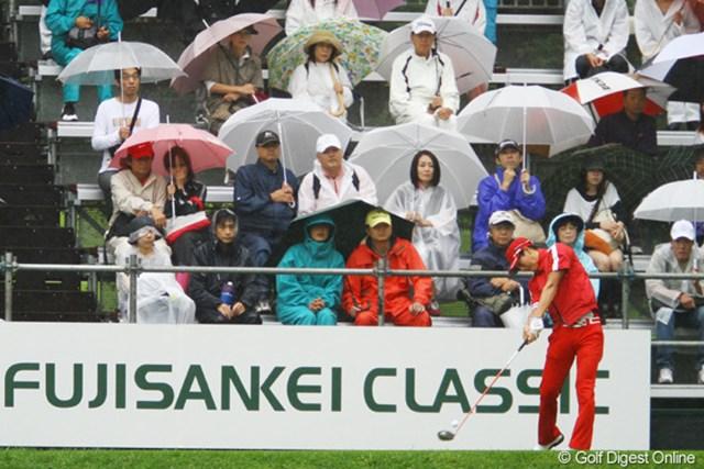 2011年 フジサンケイクラシック 最終日  石川遼 「3連覇できればコースとの相性の良さが確信になる」。そう話していた石川遼の偉業達成はお預けになった