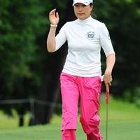 日本ツアー初勝利を挙げた単身赴任のママさんゴルファー、イエ・リーイン 2011年 ゴルフ5レディス 最終日  イエ・リーイン