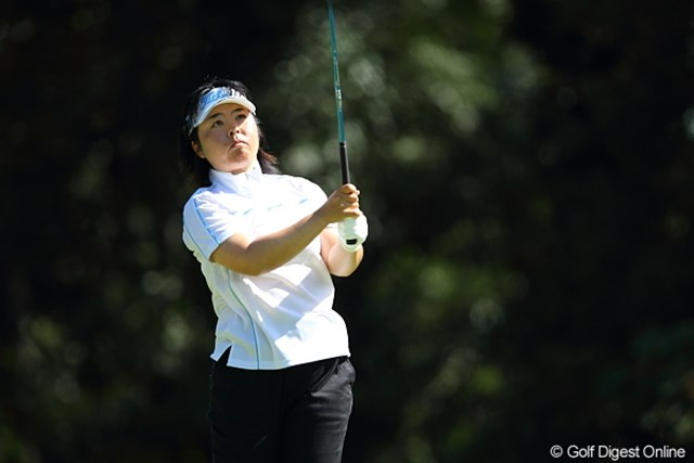 2011年 日本女子プロゴルフ選手権大会コニカミノルタ杯 初日 不動裕理 05年の覇者・不動裕理が5アンダー首位タイと好スタートを切った
