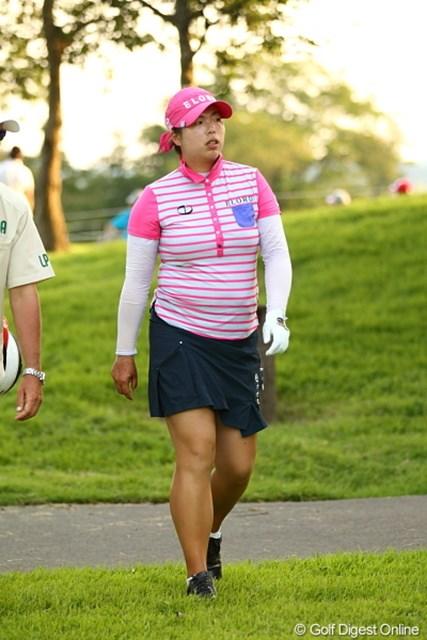 2011年 日本女子プロゴルフ選手権大会コニカミノルタ杯 初日 フォン・シャンシャン フォン・シャンシャンって名前、なんだかパンダとかにいそう。
