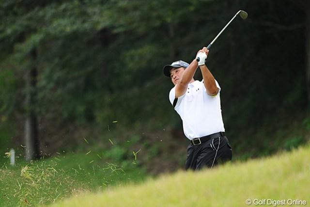 増田伸洋は5バーディ、1ボギーのナイスラウンドにも「疲れました…」と苦笑い