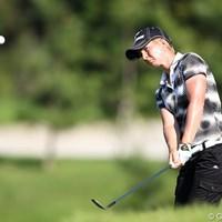 このフォローの手元の低さ、見習いたいね。 2011年 日本女子プロゴルフ選手権大会コニカミノルタ杯 2日目 タミー・ダーディン