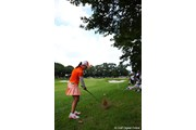 2011年 日本女子プロゴルフ選手権大会コニカミノルタ杯 3日目 古閑美保