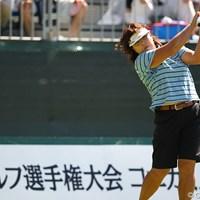 ベテラン木村プロも若い連中に負けずに上位スタート。 2011年 日本女子プロゴルフ選手権大会コニカミノルタ杯 3日目 木村敏美