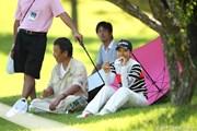 2011年 日本女子プロゴルフ選手権大会コニカミノルタ杯 3日目 笠りつ子