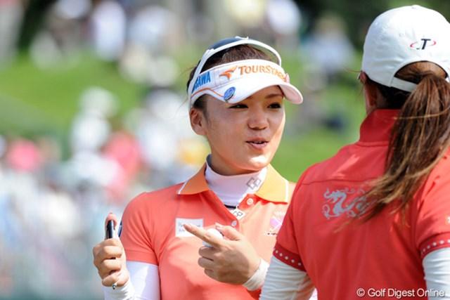 2011年 マンシングウェアレディース東海クラシック 初日 有村智恵 2週間のブランクを感じさせぬ完璧なゴルフで首位タイとなった有村智恵