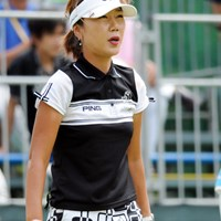 ク・オッキ→イ・ヨンミ→高又順ときて、今は彼女がチームのボス的存在やそうです。本日は韓流トップの7位タイ。 2011年 マンシングウェアレディース東海クラシック 初日 カン・スーヨン