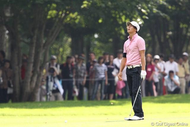 2011年 ANAオープンゴルフトーナメント 2日目 石川遼 ドライバーの不調はショートゲームにも影響。ギャラリーのため息を誘った石川遼