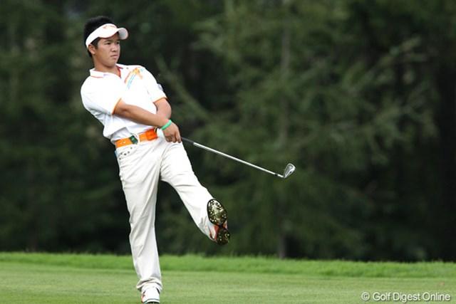 2011年 ANAオープンゴルフトーナメント 2日目 伊藤誠道 遼くんの高校の後輩、堂々の単独トップ