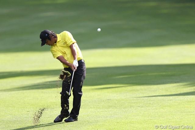 2011年 ANAオープンゴルフトーナメント 2日目 伊澤利光 6アンダー6位タイ、明日以降にも期待したいですね
