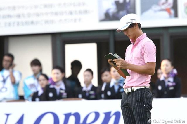 2011年 ANAオープンゴルフトーナメント 2日目 石川遼 明日は寂しい誕生日となってしまいました