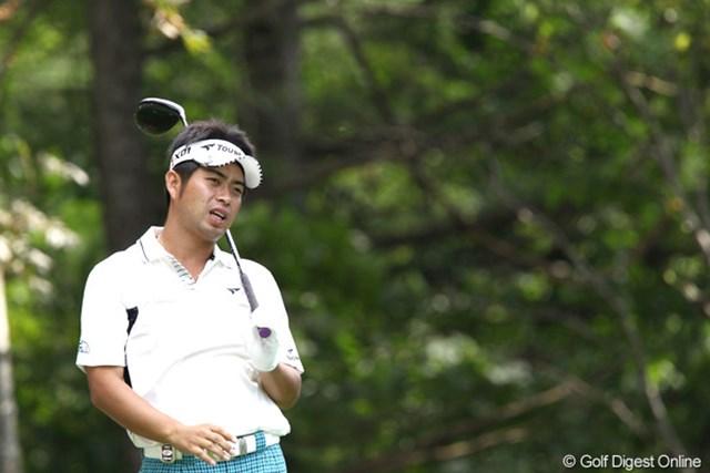 2011年 ANAオープンゴルフトーナメント 2日目 池田勇太 今日の若大将は、この表情を見れば・・・