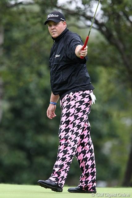 2011年 ANAオープンゴルフトーナメント 3日目 カート・バーンズ 今季5試合に出場してトップ10が2回と好調なカート・バーンズ。ジョン・デーリーのように注目を集められるか!?