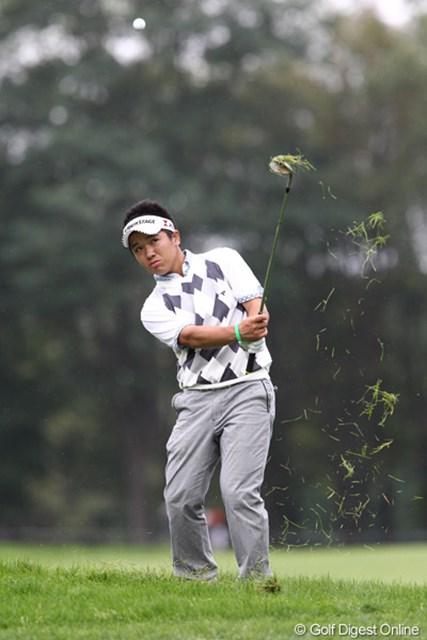 2011年 ANAオープンゴルフトーナメント 3日目 伊藤誠道 3日目も首位キープ。難易度の高い輪厚で、コツコツとフェアウェイキープからスコアをまとめる伊藤誠道