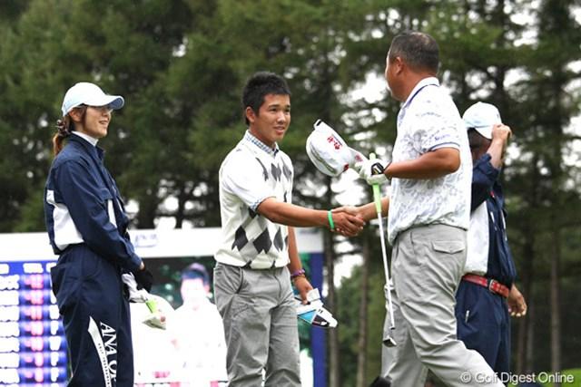 2011年 ANAオープンゴルフトーナメント 3日目 伊藤誠道&小田孔明 明日も一緒の最終組対決