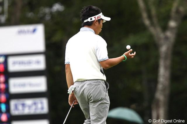 2011年 ANAオープンゴルフトーナメント 3日目 伊藤誠道 余裕?なにか楽しそうだね