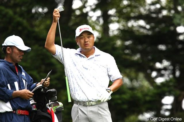 2011年 ANAオープンゴルフトーナメント 3日目 小田孔明 トップと1打差、明日は誠道君には負けてられない