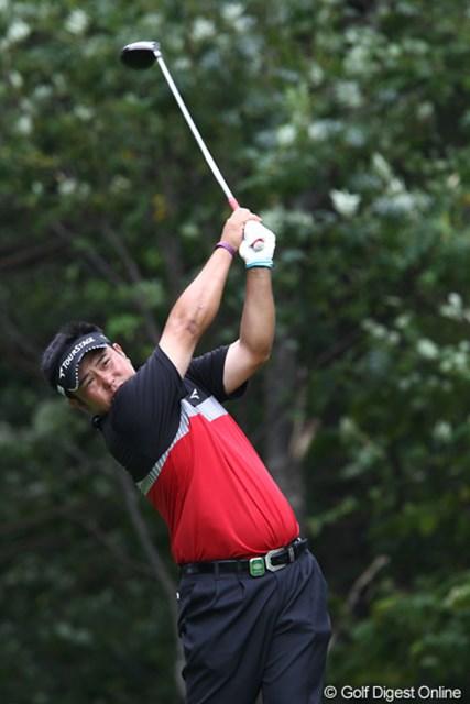 2011年 ANAオープンゴルフトーナメント 3日目 小田龍一 初日トップから12位まで後退