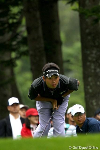 2011年 ANAオープンゴルフトーナメント 3日目 池田勇太 今日の調子は?「これじゃあ話になりません」