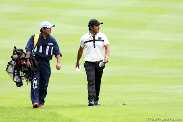 2011年 ANAオープンゴルフトーナメント 3日目 片山晋呉 今週はゴルフを楽しんで良い感じでできてるそうです