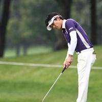 ドライバーは長尺に挑戦中。この日はパットが好調でスコアを伸ばした近藤共弘 2011年 ANAオープンゴルフトーナメント 3日目 近藤共弘