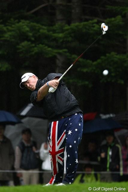 オーストラリアの国旗をあしらったウェア、ジョン・デーリーにあこがれてるそうですよ