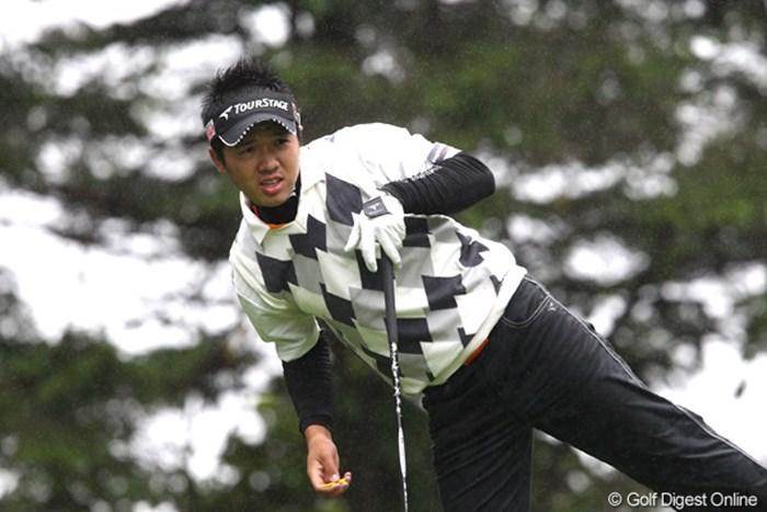 雨風はきつい? 2011年 ANAオープンゴルフトーナメント 最終日 伊藤誠道