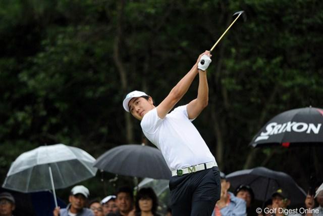 2011年 アジアパシフィックオープンゴルフチャンピオンシップパナソニックオープン 初日 べ・サンムン 同じ漢字やのに、スターはペ・ヨンジュン、女子プロはペ・ジェヒ。なしてあんただけべーやんなの?2位T