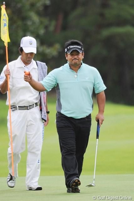 2011年 アジアパシフィックオープンゴルフチャンピオンシップパナソニックオープン 初日 宮里聖志 ワタクシが担当したTOSHINに引き続いての好発進!アウトだけで4アンダーのロケットスタートでっせ!6位