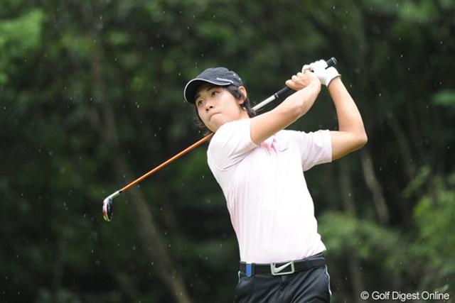 2011年 アジアパシフィックオープンゴルフチャンピオンシップパナソニックオープン 初日 櫻井勝之 灼熱の三好CCでの日本アマを制した学生チャンプですワ。あの頃よりちょっとプレーが早くなったような気がしますヨ。12位T