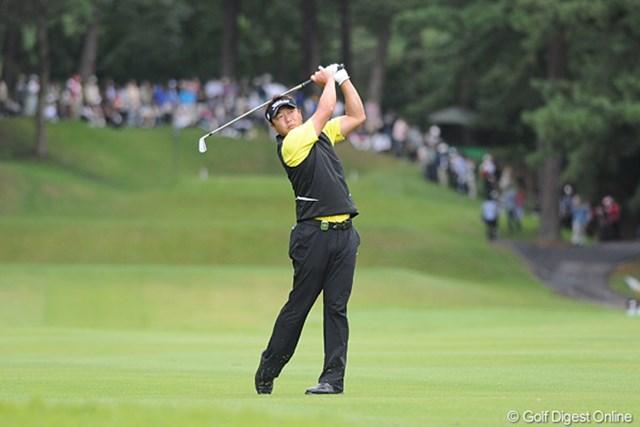 2011年 アジアパシフィックオープンゴルフチャンピオンシップパナソニックオープン 初日 丸山大輔 2年前の大会覇者、丸山大輔が好スタート。「このまま行ければ、という感じ」