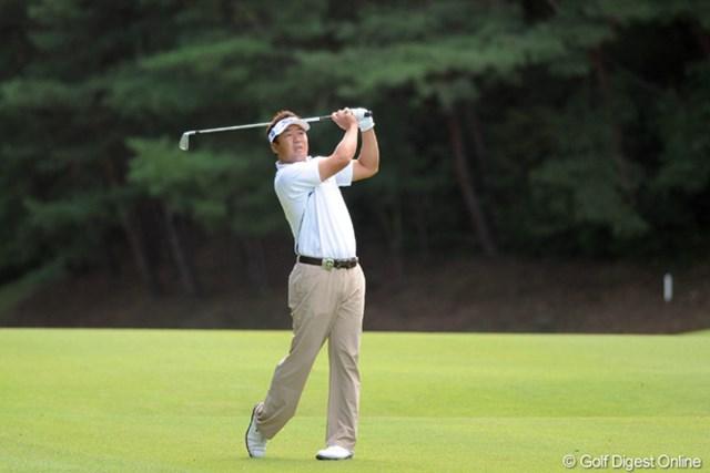 2011年 アジアパシフィックオープンゴルフチャンピオンシップパナソニックオープン 2日目 丸山大輔 難コースほど強い。丸山大輔は持ち前の粘り強さを決勝ラウンドで発揮できるか?